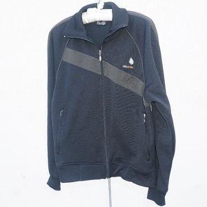 Volcom zip up sport active sweatshirt EUC M